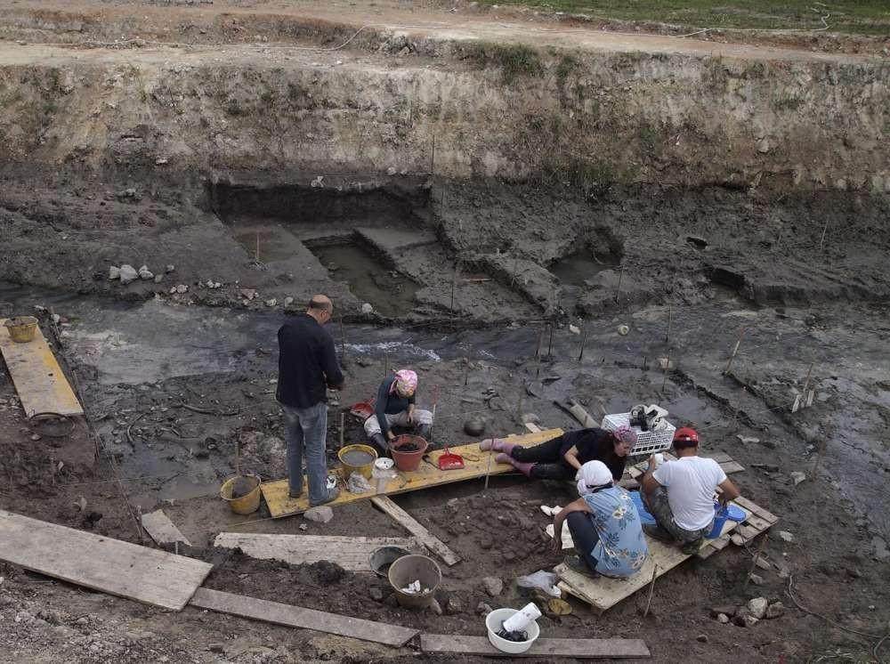 Sítio arqueológico em Toscana, na Itália (Foto: Divulgação)