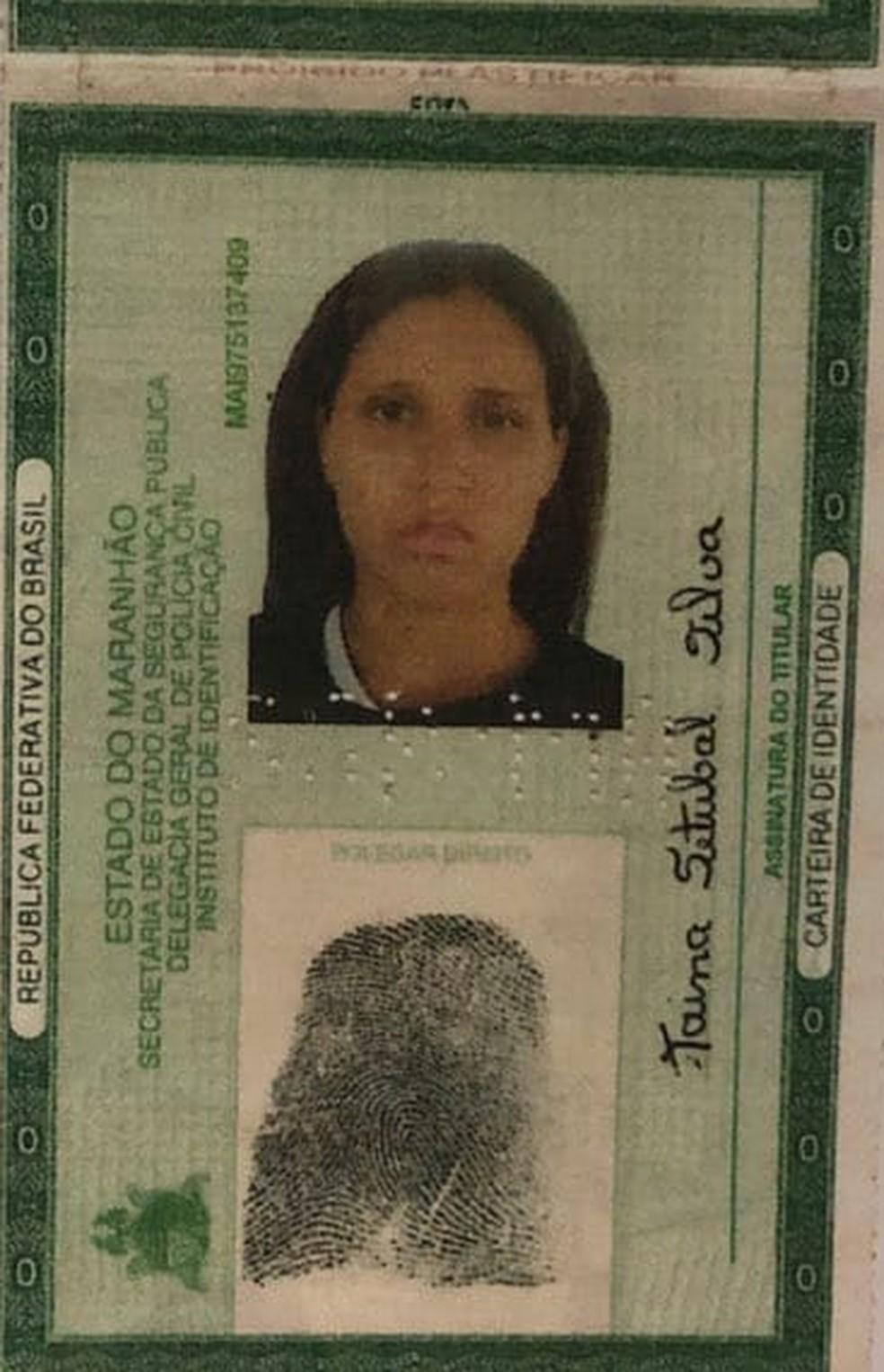Tainá Setúbal Silva foi presa por tortura contra o próprio filho de 4 anos em Apicum Açu — Foto: Divulgação/Polícia Civil