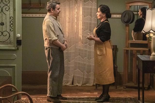 Lola (Gloria Pires) e Afonso (Cássio Gabus Mendes) (Foto: Divulgação)