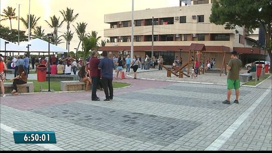 Praça em homenagem a jornalista Nelma Figueiredo é entregue em Cabedelo, PB