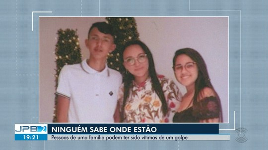 Três pessoas de uma mesma família estão desaparecidas