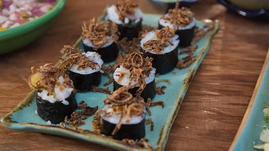 Makimono: aprenda a fazer prato japonês