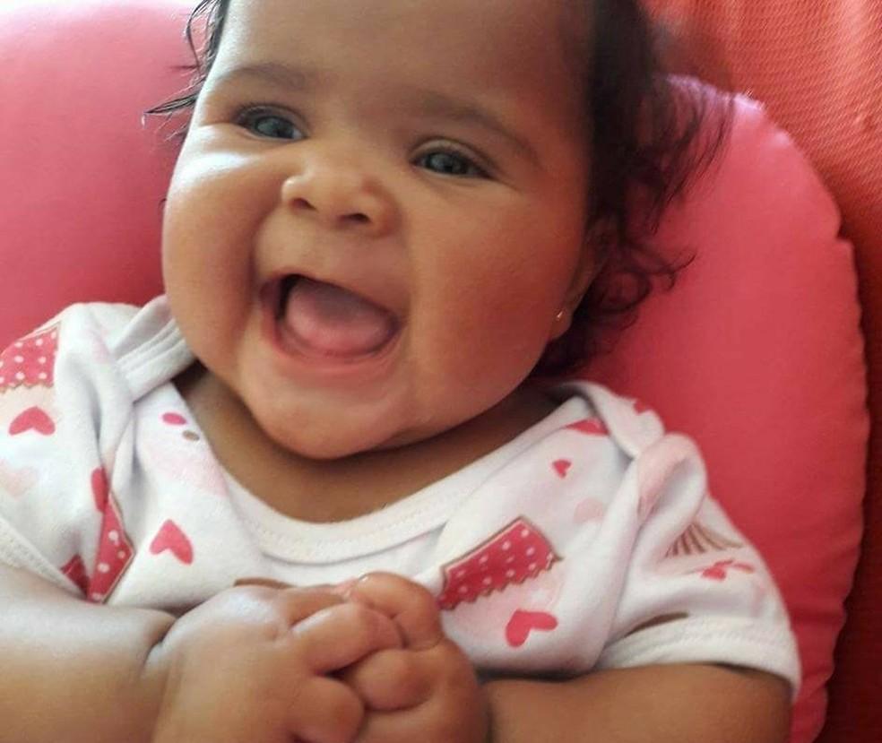 Bebê morreu no primeiro dia em que foi levada para creche (Foto: Devair Maciel / Arquivo pessoal )