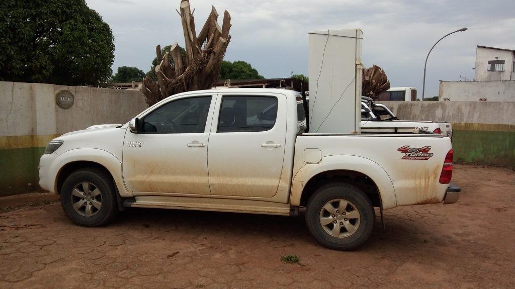 Caminhonete roubada em Ariquemes é recuperada e receptadores são presos em RO - Radio Evangelho Gospel