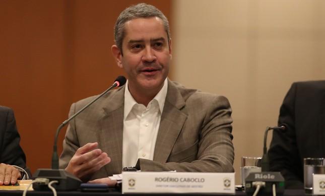 Rogério Caboclo, futuro presidente da CBF