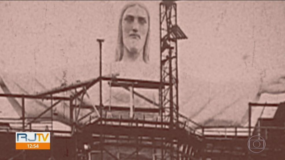O monumento completará 90 anos no próximo dia 12 de outubro — Foto: Reprodução TV Globo