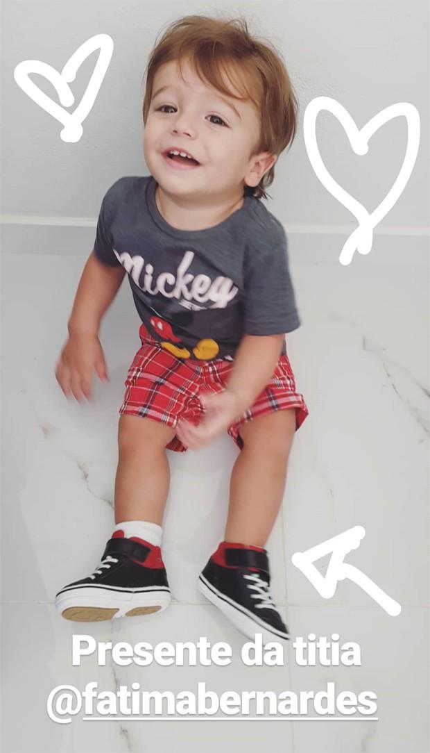 Rocco, filho de Rafa Brites (Foto: Reprodução/Instagram)