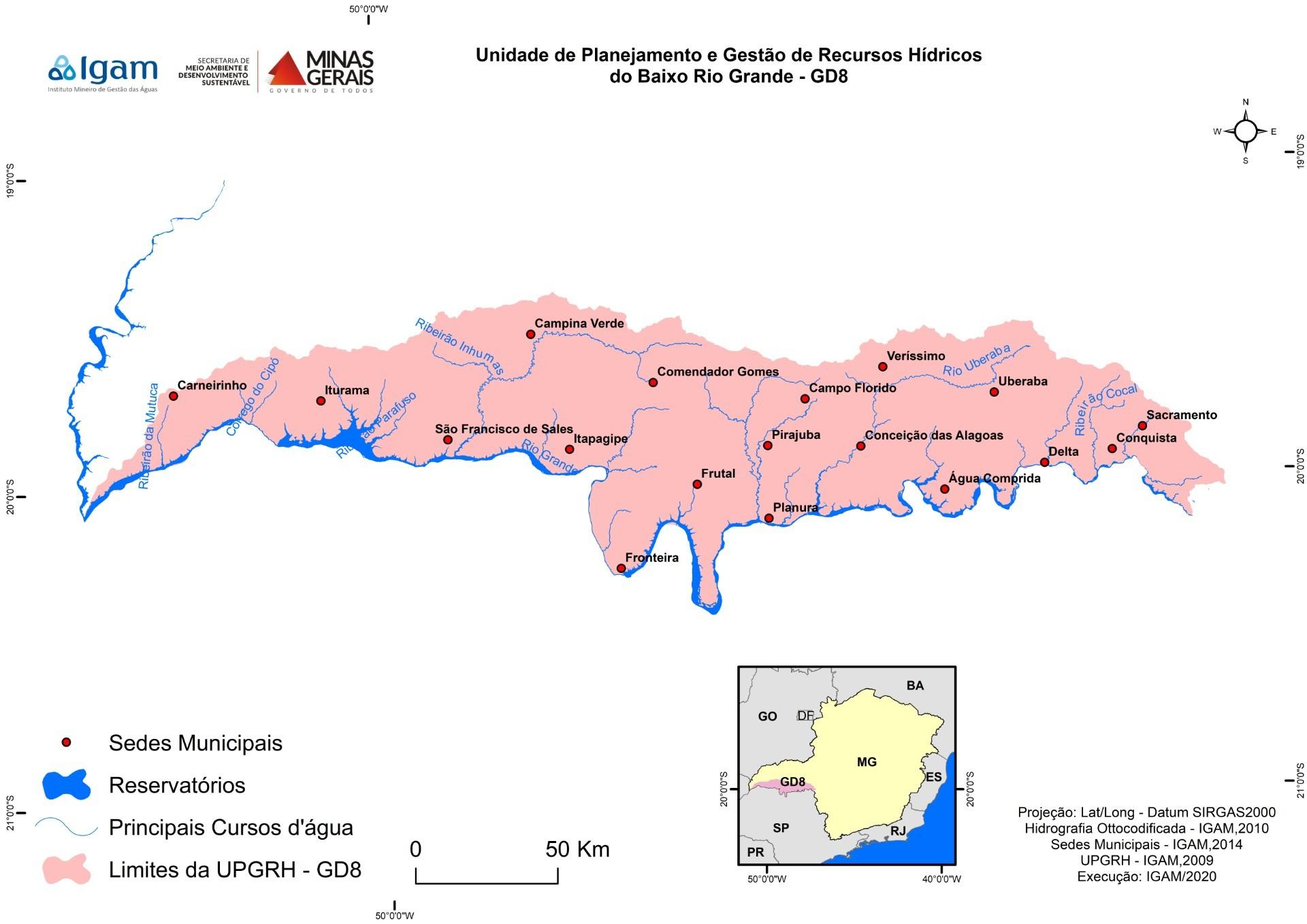 Eleita nova diretoria do Comitê da Bacia Hidrográfica do Baixo Rio Grande no Triângulo Mineiro