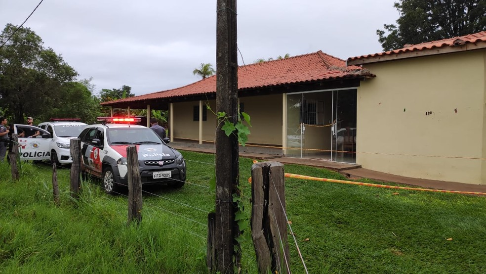 Valfrido e Maria Vanda Cauneto foram mortos a tiros em Santo Expedito — Foto: David de Tarso/TV Fronteira