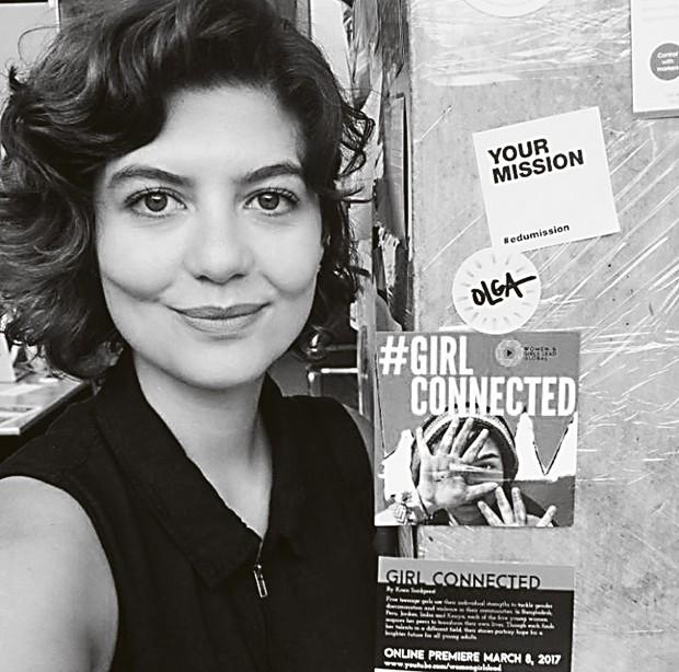 A jornalista Juliana de Faria, do site think olga (Foto: Arquivo Pessoal / Divulgação)