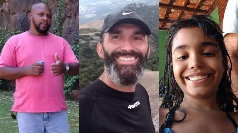 Vítimas de afogamento em Iguape — Foto: Reprodução/Facebook