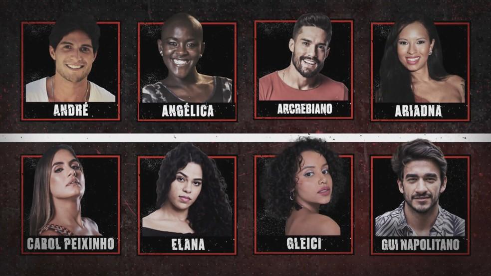Confira todos os participantes do 'No Limite' — Foto: Globo