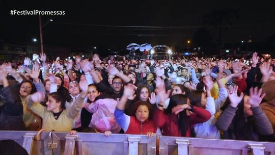 Festival Promessas 2019: o maior festival de música gospel anima São José dos Pinhais na tarde de sábado (21)