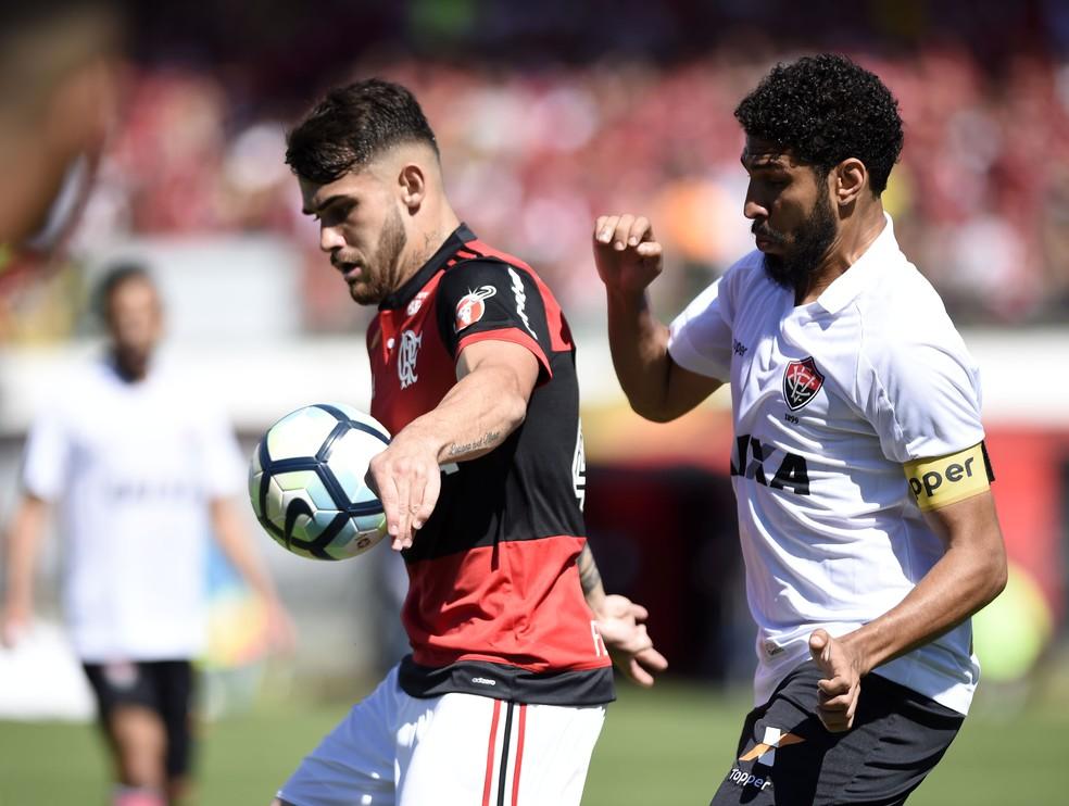 Vizeu não foi bem no jogo contra o Vitória (Foto: André Durão/GloboEsporte.com)