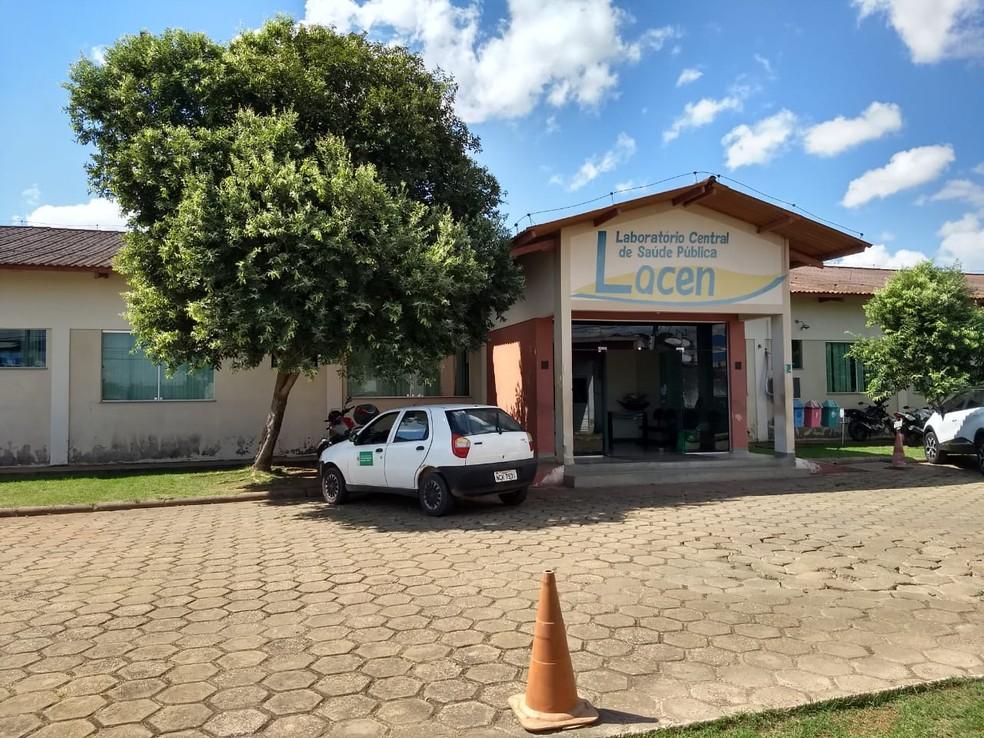 Testes serão feitos pelo Laboratório Central de Saúde Pública de Rondônia (Lacen), em Porto Velho.  — Foto: Diêgo Holanda/G1