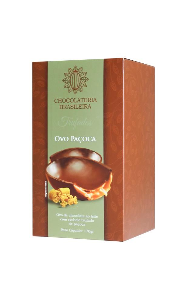 Ovo de Paçoca (Foto: Chocolateria Brasileira)