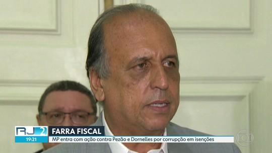 MP entra com ação contra Pezão e Dornelles por corrupção em isenções