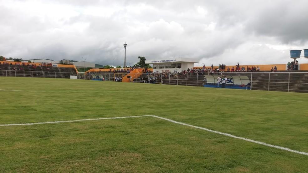 Estádio Sesc Mendonção será o local do jogo (Foto: Maicon Patliny / Assessoria Belo Jardim)