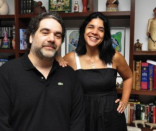 Filipe Miguez e Izabel de Oliveira | Estevam Avellar/TV Globo