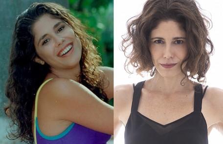 Juliana Martins foi a primeira protagonista de 'Malhação', em 1995. 'Muito orgulho de ter ajudado a contar essa história. Programa pioneiro em relação à representatividade dos jovens' Reprodução e Leo Aversa