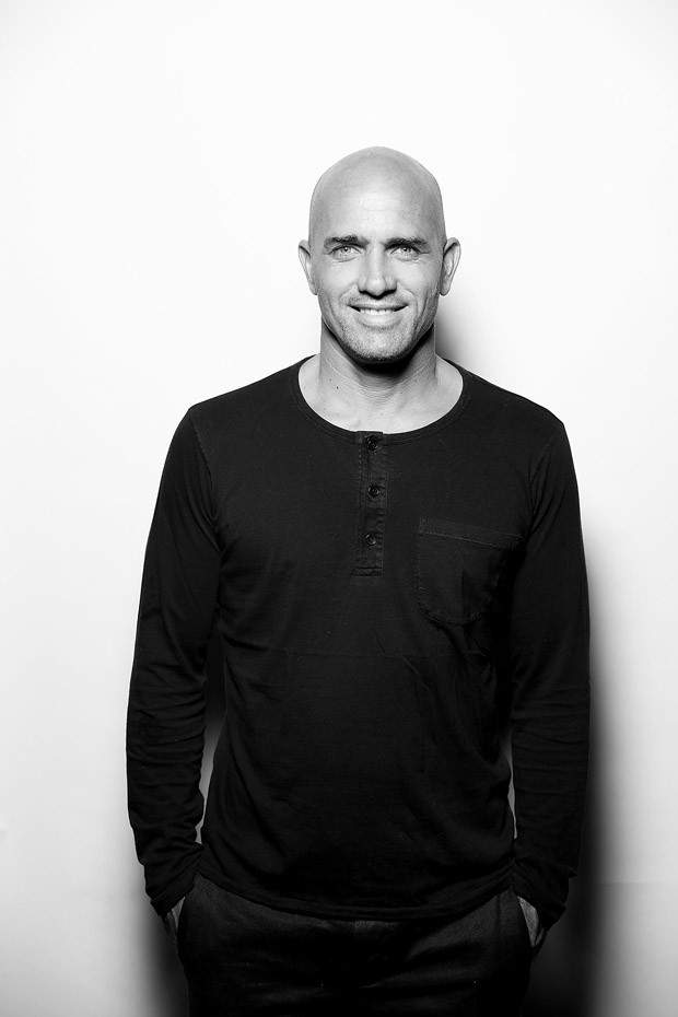 GOLD COAST, AUSTRALIA - MAY 11:  (EDITORS NOTE: Image has been converted to black and white) Kelly Slater poses for a portrait at the premiere of Proximity The Movie on May 11, 2017 in Gold Coast, Australia.  (Photo by Chris Hyde/Getty Images) (Foto: Getty Images)