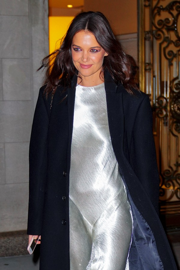 NEW YORK, NEW YORK - NOVEMBER 06: Katie Holmes is seen on November 06, 2019 in New York City. (Photo by Gotham/GC Images) (Foto: GC Images)