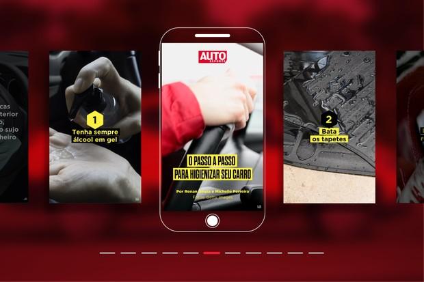 O passo a passo para higienizar o seu carro (Foto: Autoesporte)