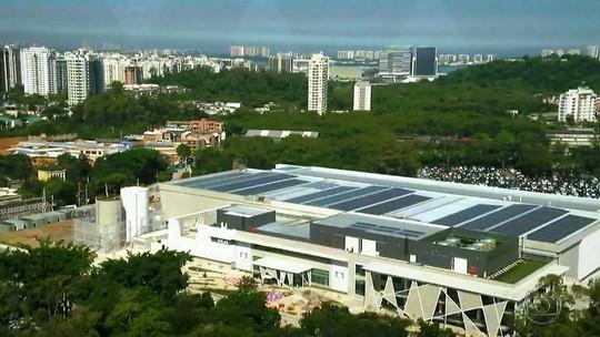 Rovany Araújo mostrou tudo da inauguração dos novos estúdios da Globo