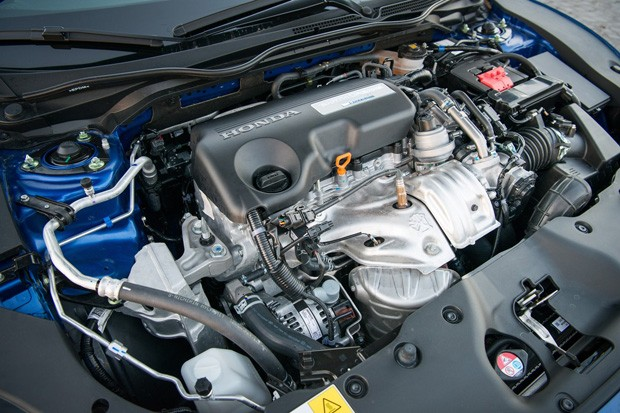 Motor do Honda Civic Europeu (Foto: divulgação)