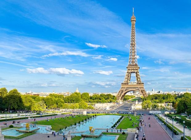 Torre Eiffel (Foto: Reprodução/Air France)