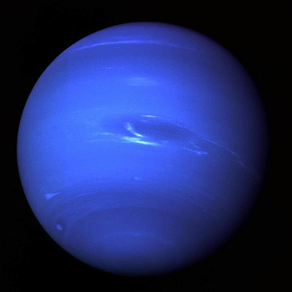 Imagem do Telescópio Espacial Hubble revela formação de uma tempestade em Netuno  (Foto: (NASA/ESA/GSFC/JPL))