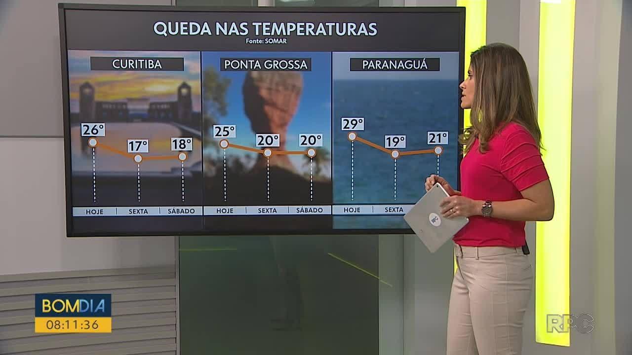 VÍDEOS: Bom Dia Paraná de quinta-feira, 29 de outubro