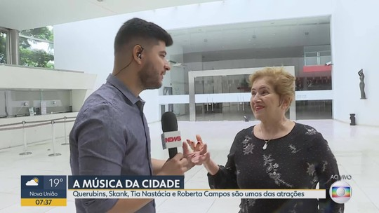 """Projeto """"A música da cidade"""" deve emocionar público em Belo Horizonte"""