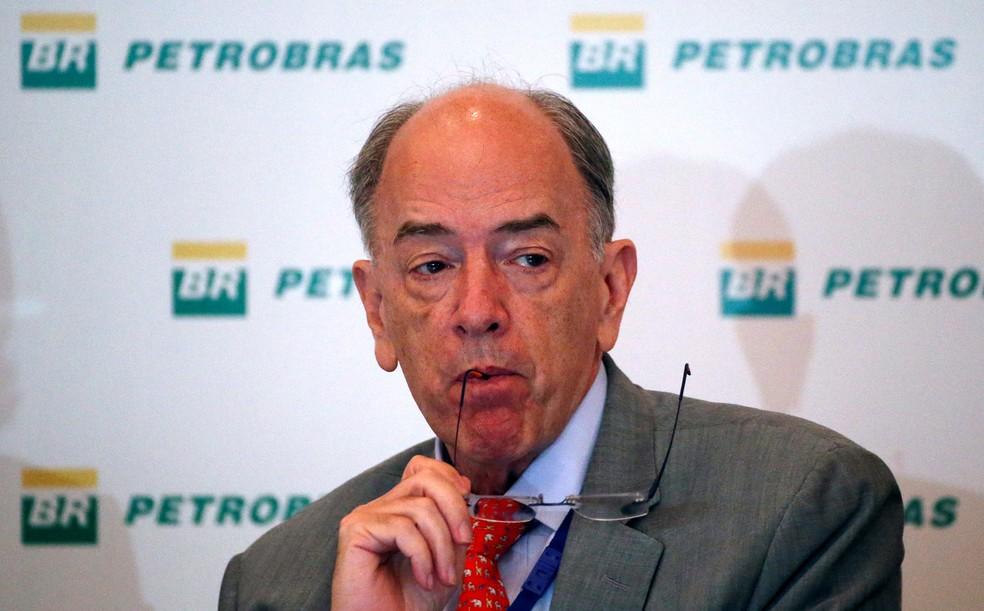 Pedro Parente, presidente da Petrobras, em conferência no Rio de Janeiro, no início de maio (Foto: Sergio Moraes/Reuters)