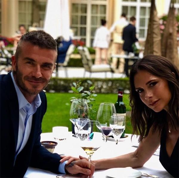 David e Victoria Beckham (Foto: Instagram)