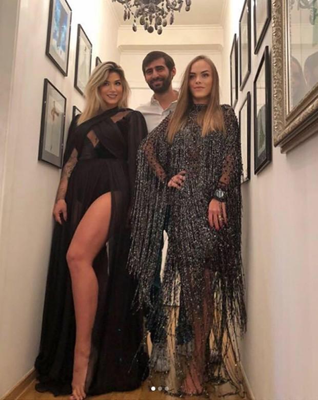 Dani Souza, Hayk Avanesyan e Priscila Marodin  (Foto: Reprodução/Instagram)