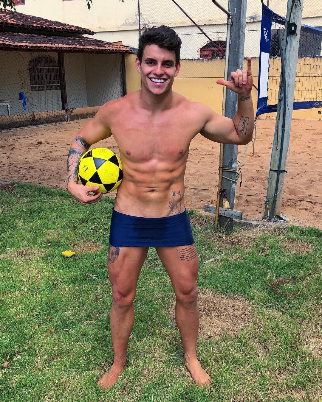 Antonio Rafaski depois de praticar esporte (Foto: Reprodução/Instagram)