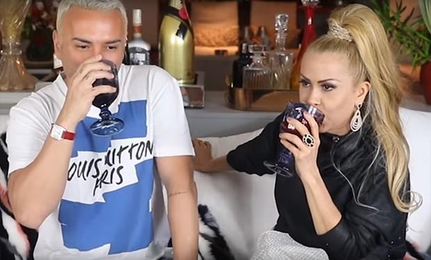 Matheus Mazzafera e Joelma (Foto: Reprodução/ Youtube)
