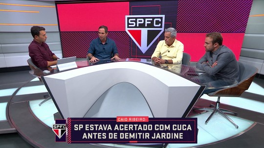 Caio Ribeiro diz que São Paulo estava acertado com Cuca antes de demitir Jardine