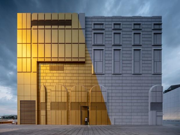 """Edifícios na Coreia do Sul tem """"impressões"""" de prédios vizinhos (Foto: Divulgação / Ossip van Duivenbode)"""