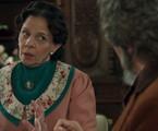 Rosi Campos é Agustina em 'O tempo não para' | Reprodução