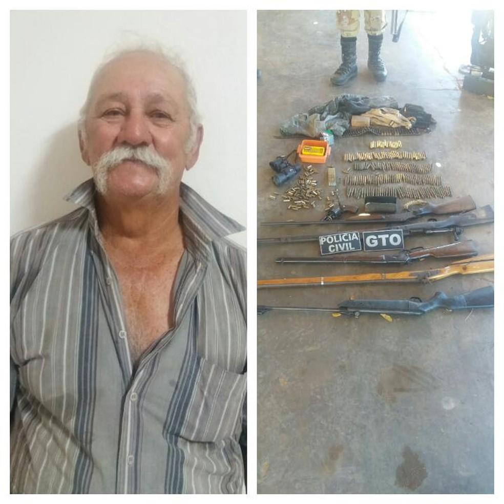 Petronilo Costa Neto foi preso em Campo Grande pela polícia nesta segunda-feira (18) (Foto: Divulgação/Polícia Civil)