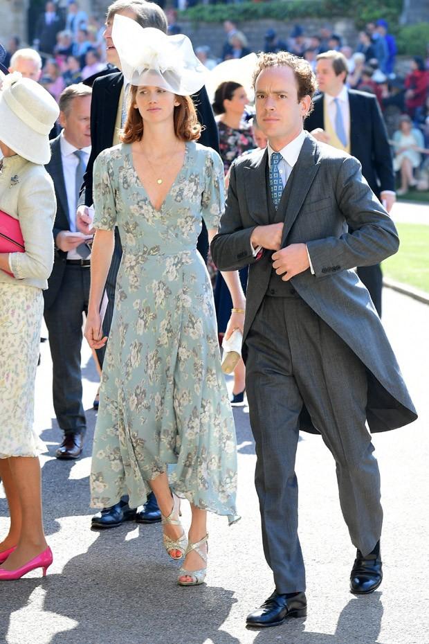 Chapéus diferentões no casamento de Harry e Meghan (Foto: Getty Images)