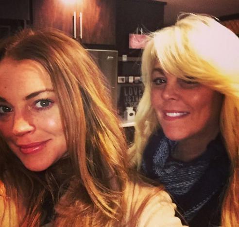 Lindsay e Dina Lohan (Foto: Instagram)