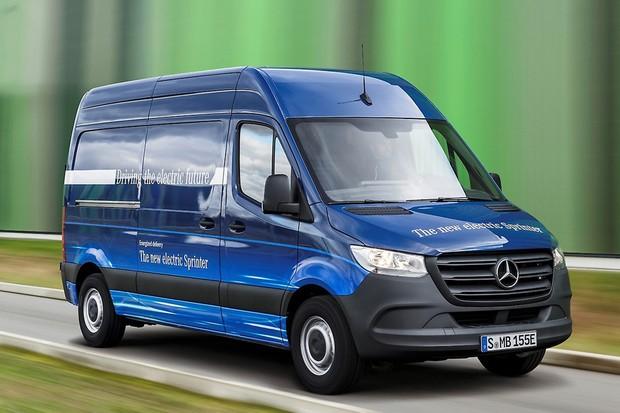Mercedes-Benz já confirmou versão elétrica eSprinter para 2019 (Foto: Divulgação)