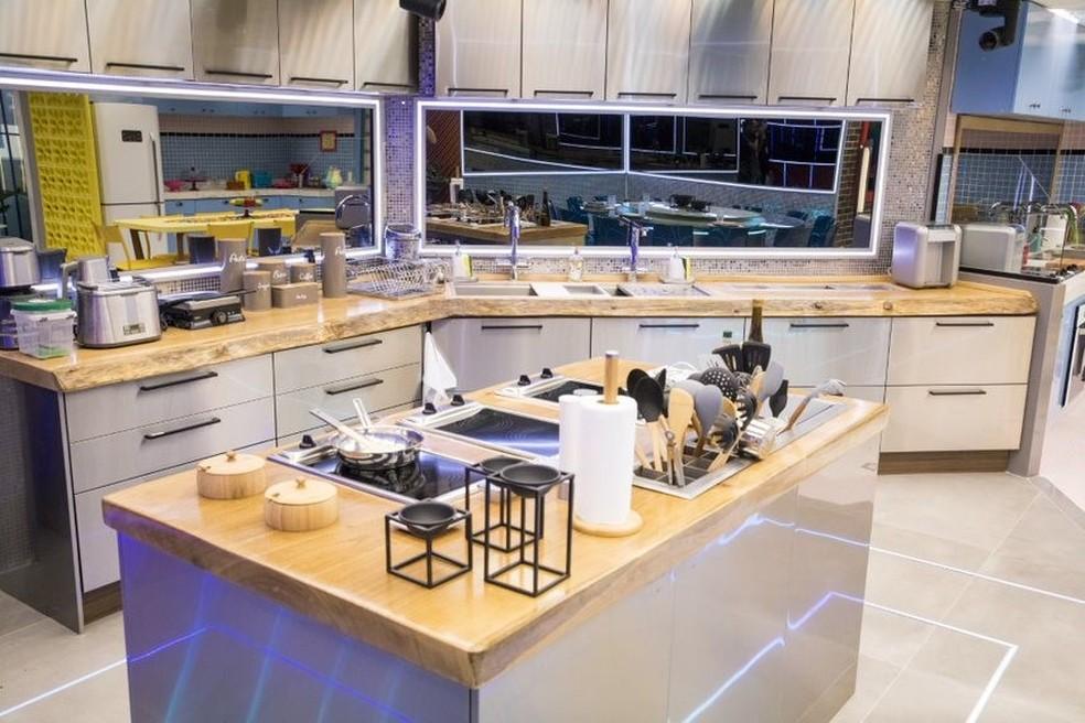 Beleza e sofisticação para a cozinha — Foto: Globo