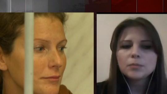 'Não tivemos acesso a ela', diz irmã de ativista brasileira presa na Rússia