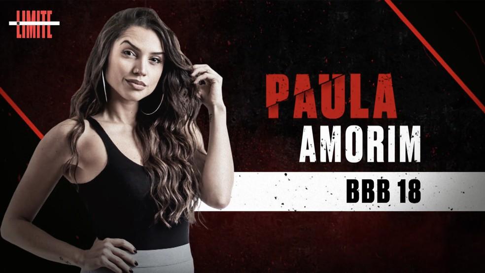 Paula Amorim é uma das participantes do 'No Limite' ? Foto: Globo