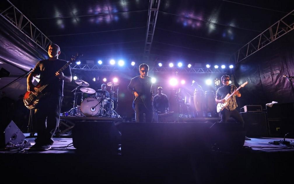 Nação Zumbi toca em palco da Virada Cultural — Foto: Fábio Tito/G1