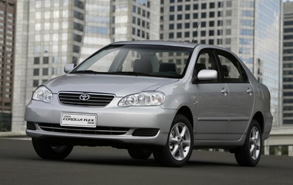 Toyota Corolla 2008 (Foto: Divulgação)